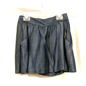 Armani Denim mini skirt
